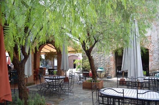 San Francisco del Rincon, Mexico: Restaurante en el área de los adobes
