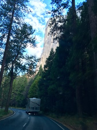 Lower Pines Campground: On The Road