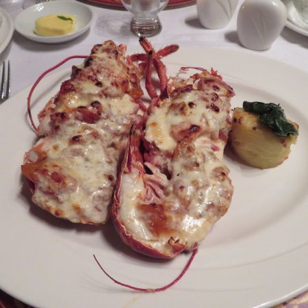 Aghadoe, Ireland: Lobster thermador, not the usual preparation, but good