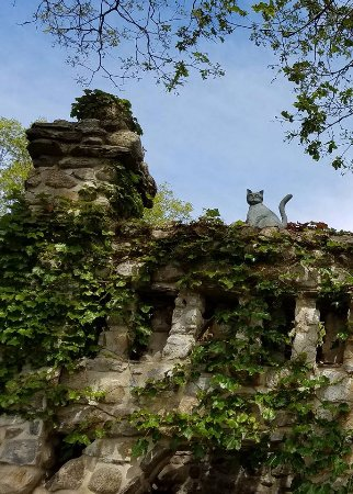 Gillette Castle State Park: His love of cats shows everywhere