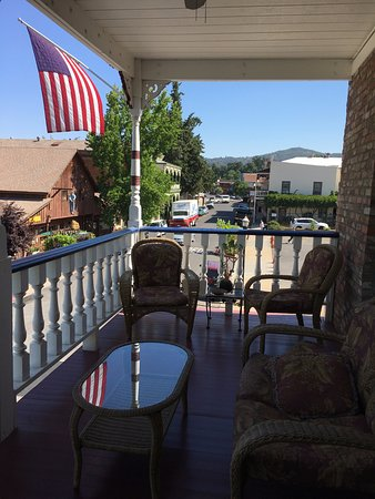 Jamestown, CA: Veranda