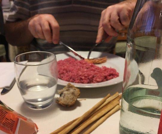 Helios Hotel: Risotto rosa con gambero di Sanremo