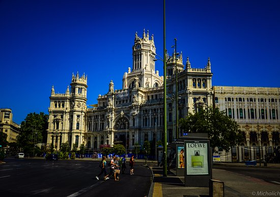 Royal Roundabout Review Of Plaza De Cibeles Madrid