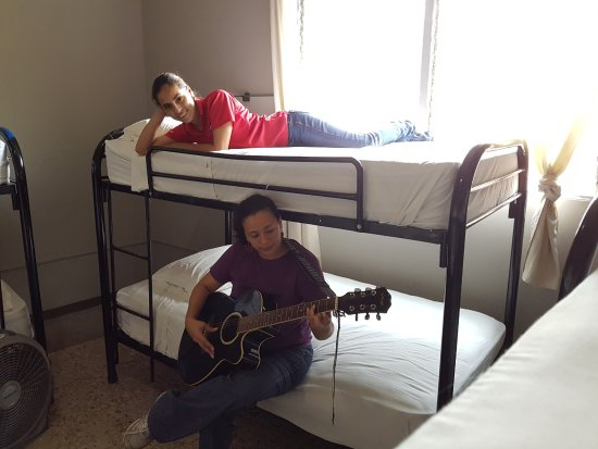 Managua Backpackers Inn: In-room entertainment from one of our guests