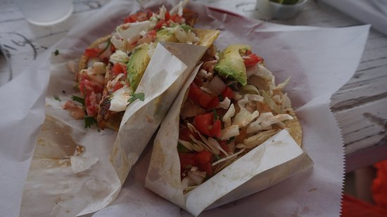 The best fish tacos ever picture of the taco stand la for Best fish for fish tacos