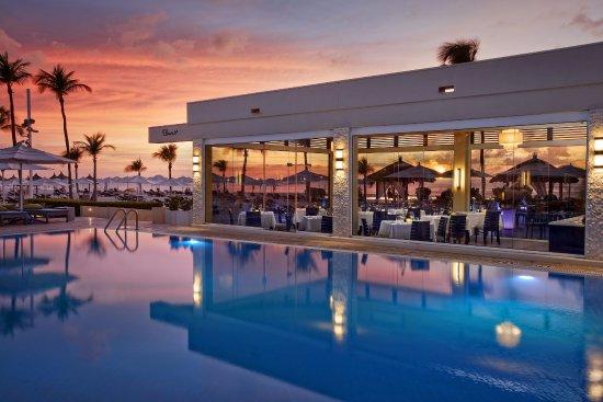 Elements Restaurant Adults Only Palm Eagle Beach Menu