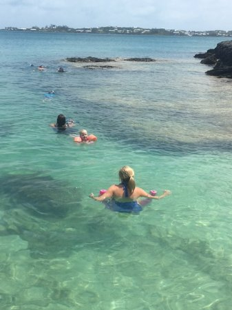 Hamilton, Islas Bermudas: Relaxing in private coves!