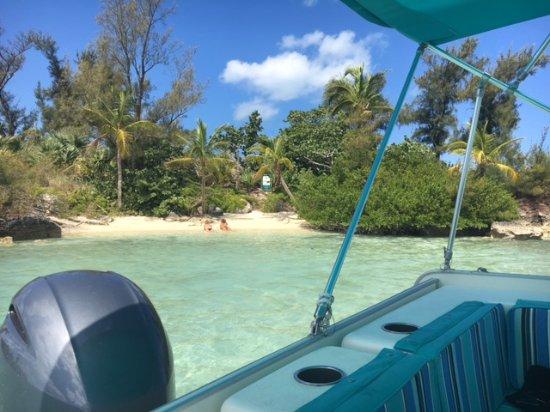 Hamilton, Islas Bermudas: Palm Island!