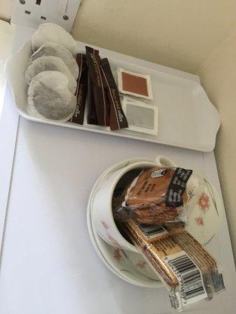 Mellington, UK: Complimentary hospitality tray