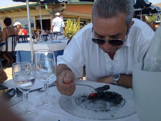 Le Murelle: Ottimo risotto al nero di seppia.
