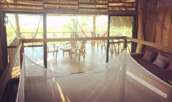 Los Cardones Ecolodge Inside A Beach Front Bungalow 4 Poster Bed Mosquito Nets