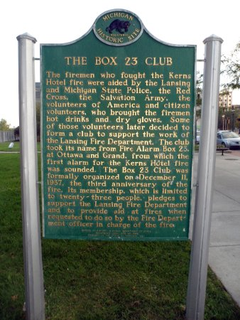 The Kerns Hotel Fire/The Box 23 Club