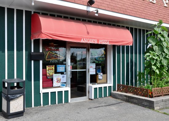 Angie's Pizza House : Angie's Pizza - Entrance