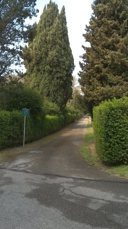 Cura di Vetralla, إيطاليا: ingreso al convento sant´Angelo