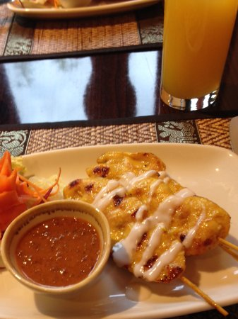 Thai Pinto restaurant: Chicken satay