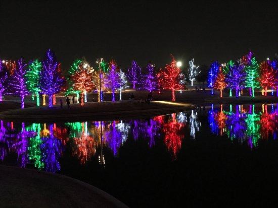 vitruvian park photo - C5 Christmas Lights