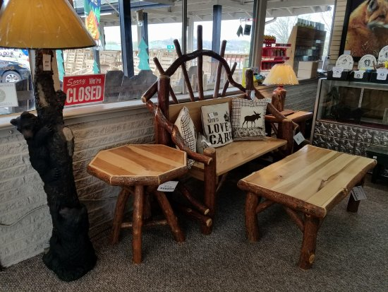 Tennessee Trading Post Amish Made Rustic Furniture
