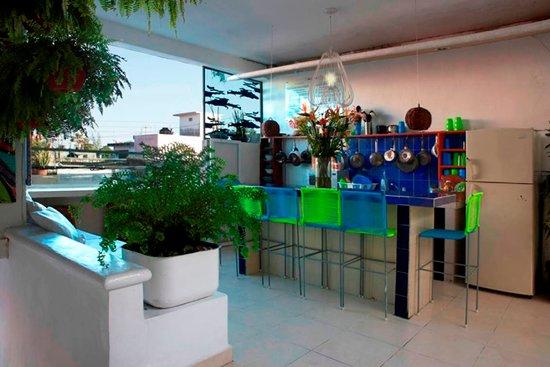 Hostelito Cozumel: kitchen