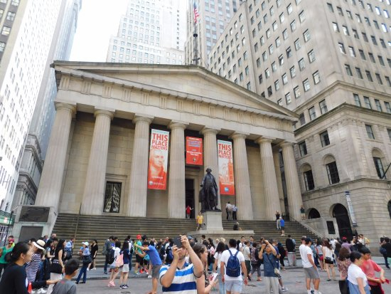 Photo of Federal Hall National Memorial in New York, NY, US