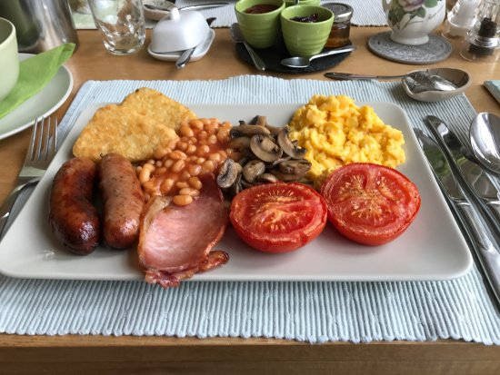 Penmorfa, UK: Perfect breakfast