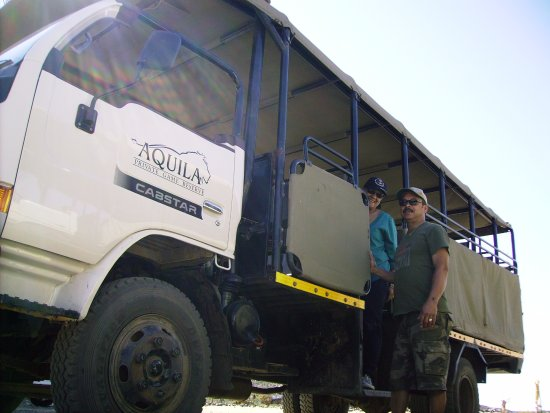 Aquila Private Game Reserve: ...going on a safari drive