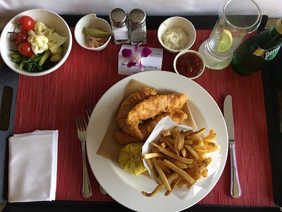 Swissotel The Stamford Singapore: Room service