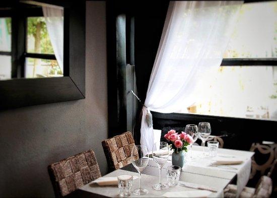 Restaurant Saffron : La salle