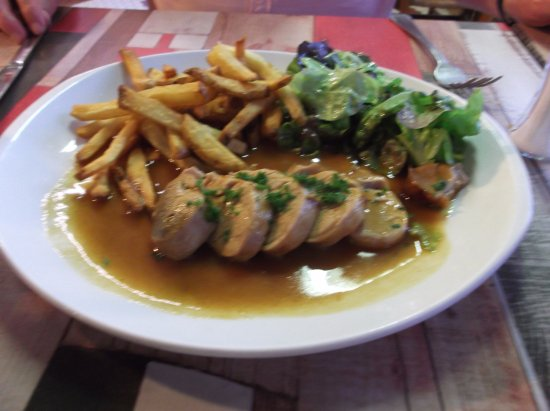 Apremont, Frankreich: Filet mignon of pork with cider sauce