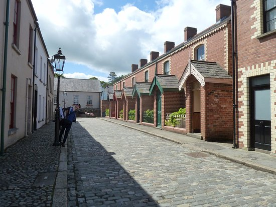 Ulster Folk & Transport Museum : Beim Eingang