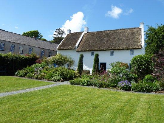 Ulster Folk & Transport Museum : Townhouse mit Garten