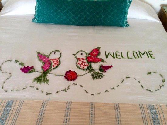 La Casa Que Canta: Una linda bienvenida!
