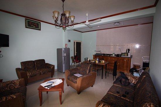 Il soggiorno con cucina picture of villa bedier anse volbert