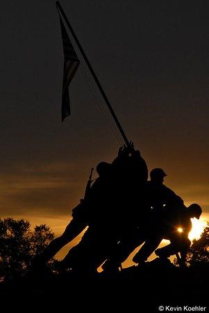 U S Marine Corps War Memorial