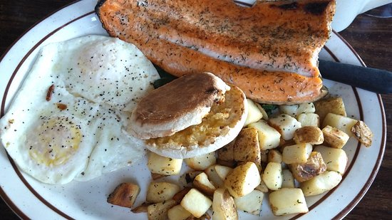 Le P When In Rome Idaho Trout With Eggs And Peasant Potatoes
