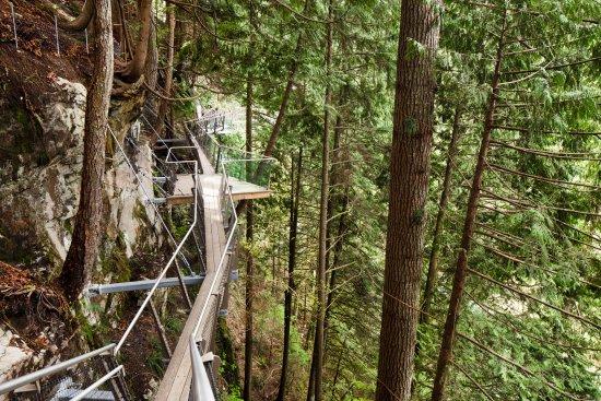 Βόρειο Βανκούβερ, Καναδάς: Cliffwalk