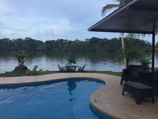 Manatus Hotel: Habitaciones hermosas, camas muy cómodas, baño amplio, mucha vegetación y animales. La piscina y