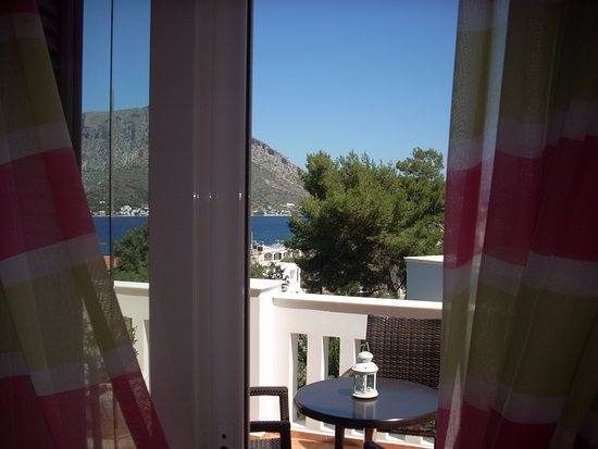 Myrties, اليونان: Nera Apartment - Balcony View