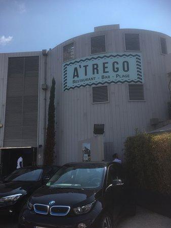 A'trego : マリーナの先端です。