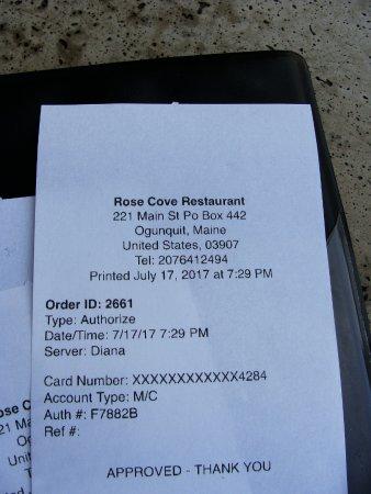 Rose Cove Cafe