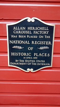 North Tonawanda, NY: The placard for this building being on the National Register of Historic Places.