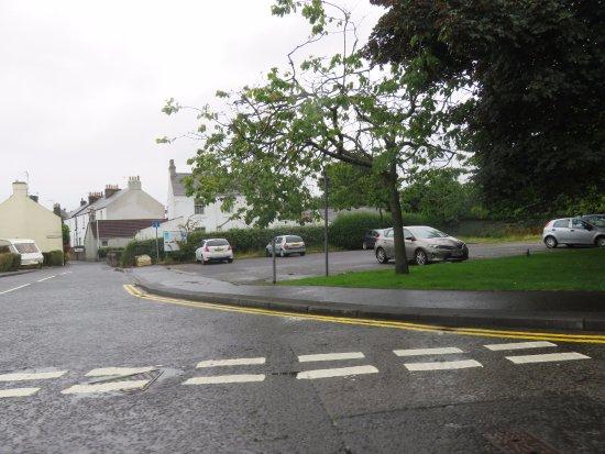 Gospel Hall: car park beside hall
