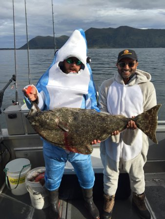 Larsen Bay, AK: Halibut!