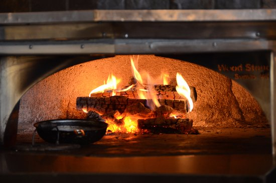 Hudson, WI: Wood fired oven