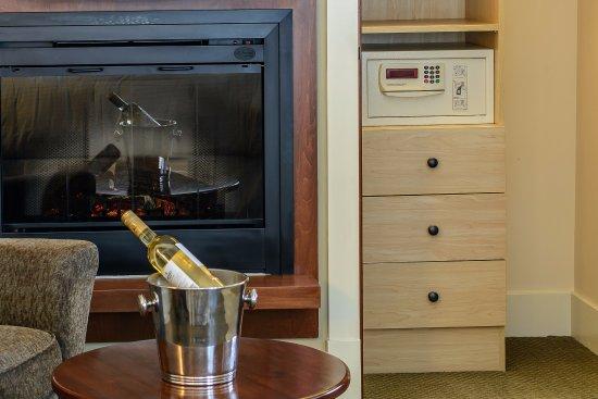 Solara Resort & Spa - Bellstar Hotels & Resorts: Safe and fireplace in each master bedroom