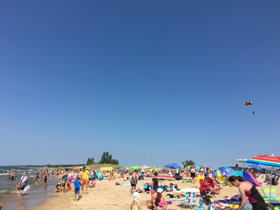 Saugatuck, MI: Oval Beach