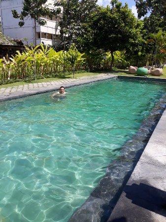 Pool of the Si Doi Hotel, Legian, Bali, Indonesia