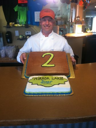Mirror Lake Diner: Our Second Birthday!