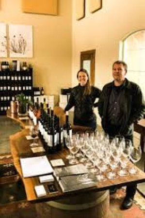 Vital Wines: Our tasting room