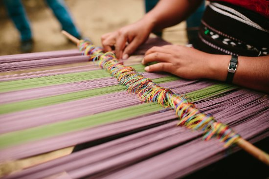 San Cristobal de las Casas, Mexico: Buy back strap loom products directly form the artisans