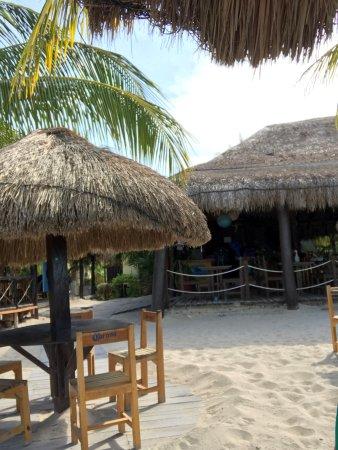 Playa Palancar : Bar area